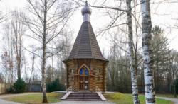 Russisch-orthodoxe Kapelle. Das Foto ist von 2017. (KZ-Gedenk·stätte Dachau)