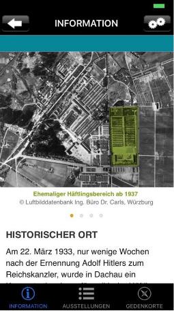 Appbild Historischer Ort