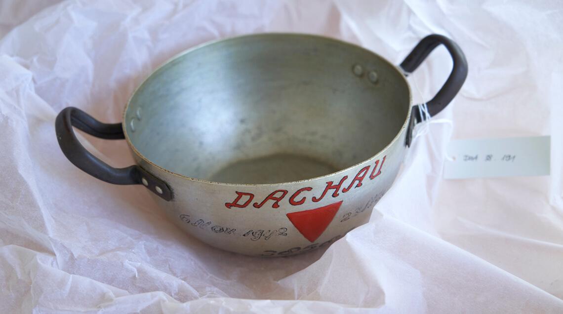Suppenschüssel eines ehemaligen Häftlings