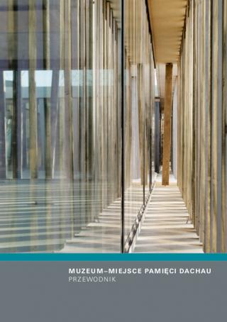 Na okładce przewodnika widnieje fasada Centrum Informacyjnego dla Zwiedzających