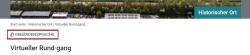 Screenshot mit markiertem Auswahlsymbol für Deutsche Gebärdensprache.